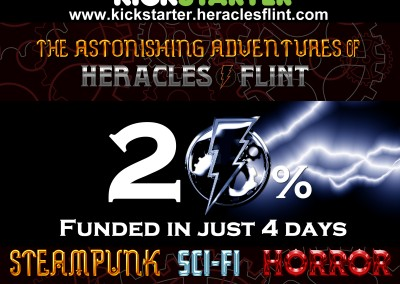 20 percent funding milestone w