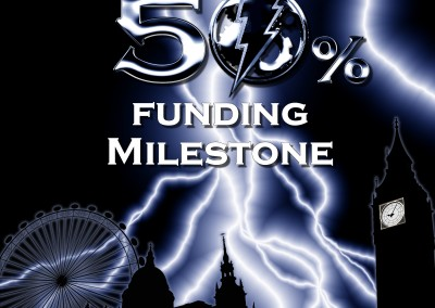 50 percent funded milestone